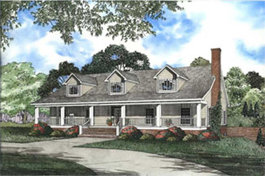 Main image for house plan # 3900