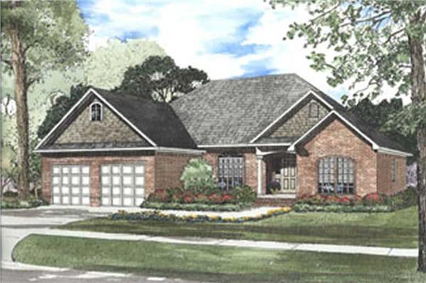 Main image for house plan # 3801