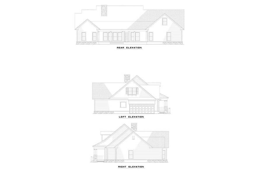 Home Plan Other Image of this 4-Bedroom,2373 Sq Ft Plan -153-1224
