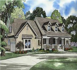 House Plan #153-1224