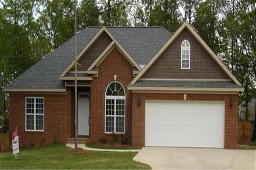 Front View of this 3-Bedroom,1739 Sq Ft Plan -153-1228