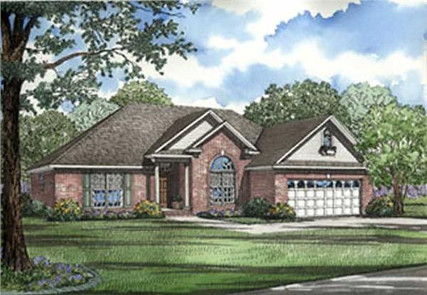 Main image for house plan # 4013