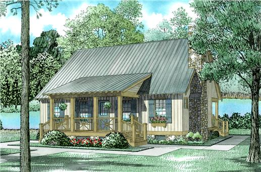 Main image for cottage house plan # 153-1230
