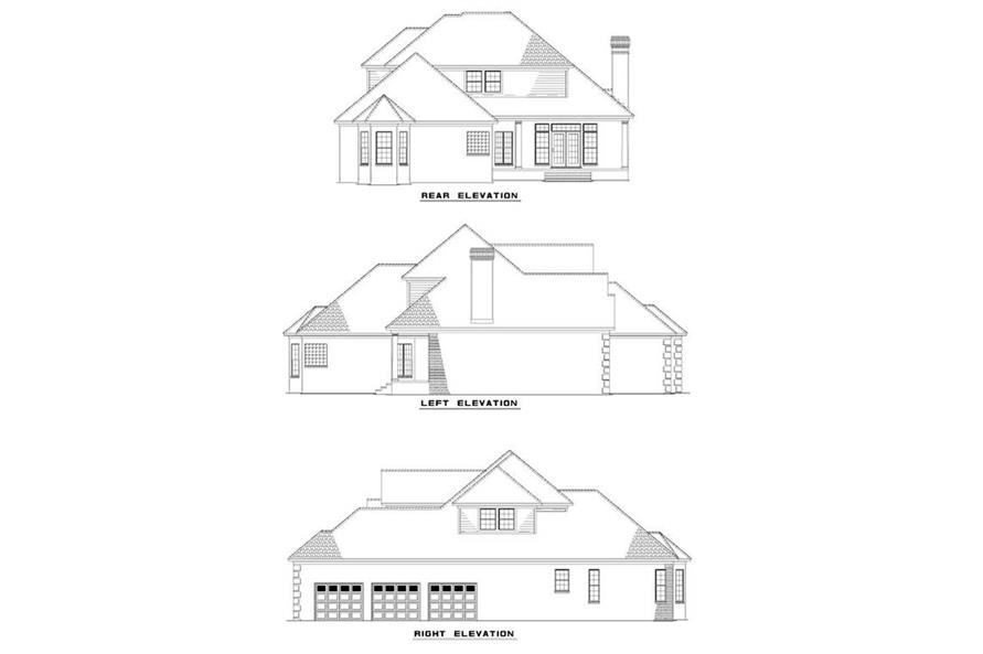 Home Plan Other Image of this 4-Bedroom,2784 Sq Ft Plan -153-1234
