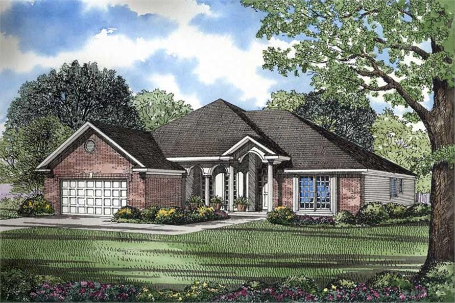 Main image for house plan # 3640