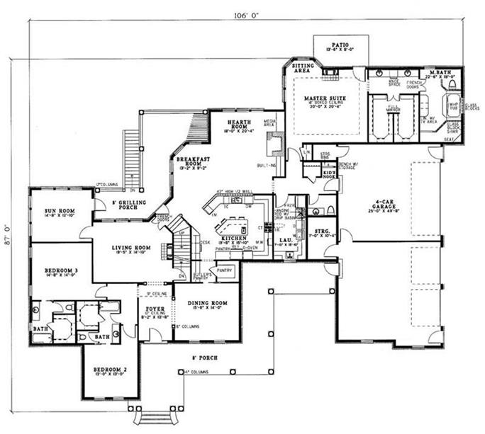 Luxury Home Designs And Floor Plans Home Design