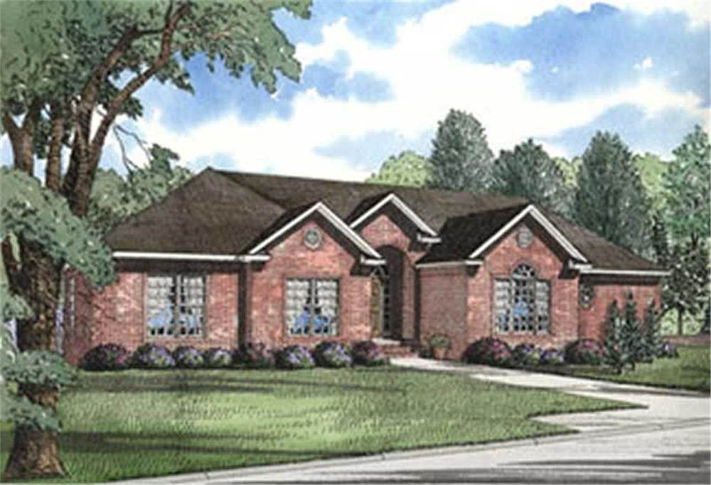 Main image for house plan # 4003