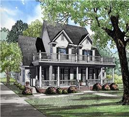 House Plan #153-1261