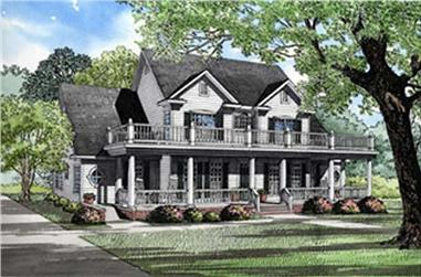 Main image for house plan # 5571