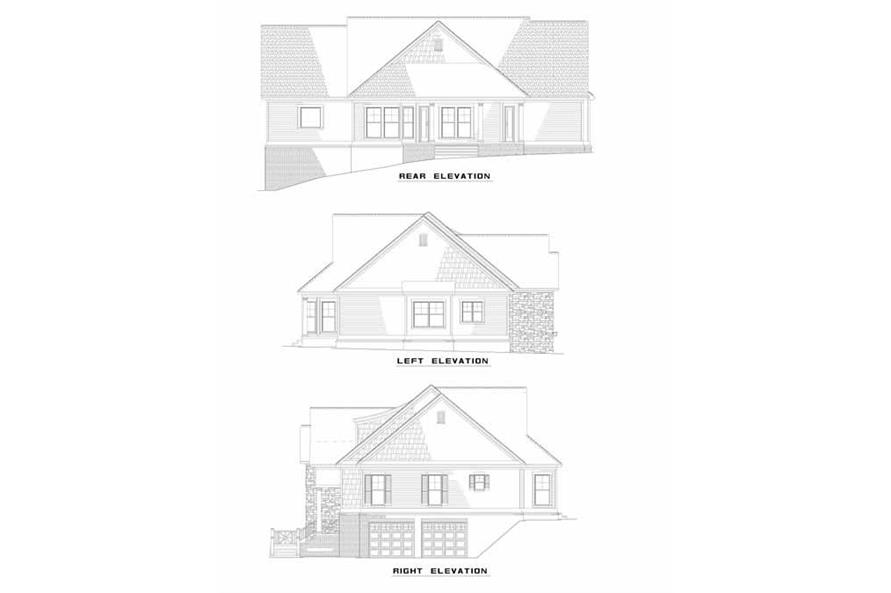 Home Plan Other Image of this 4-Bedroom,2495 Sq Ft Plan -153-1262
