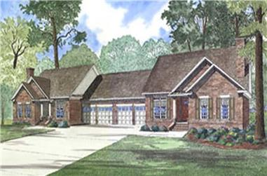 Main image for house plan # 3972