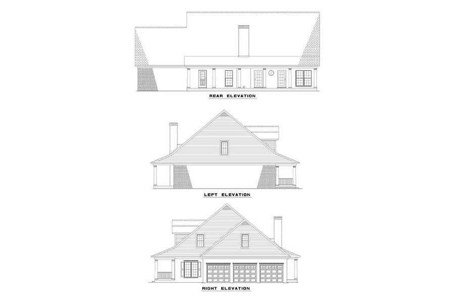 Home Plan Other Image of this 4-Bedroom,3179 Sq Ft Plan -153-1270