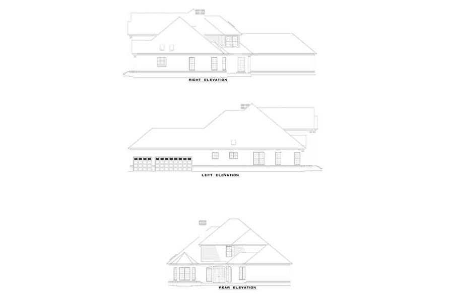 Home Plan Other Image of this 3-Bedroom,3823 Sq Ft Plan -153-1286
