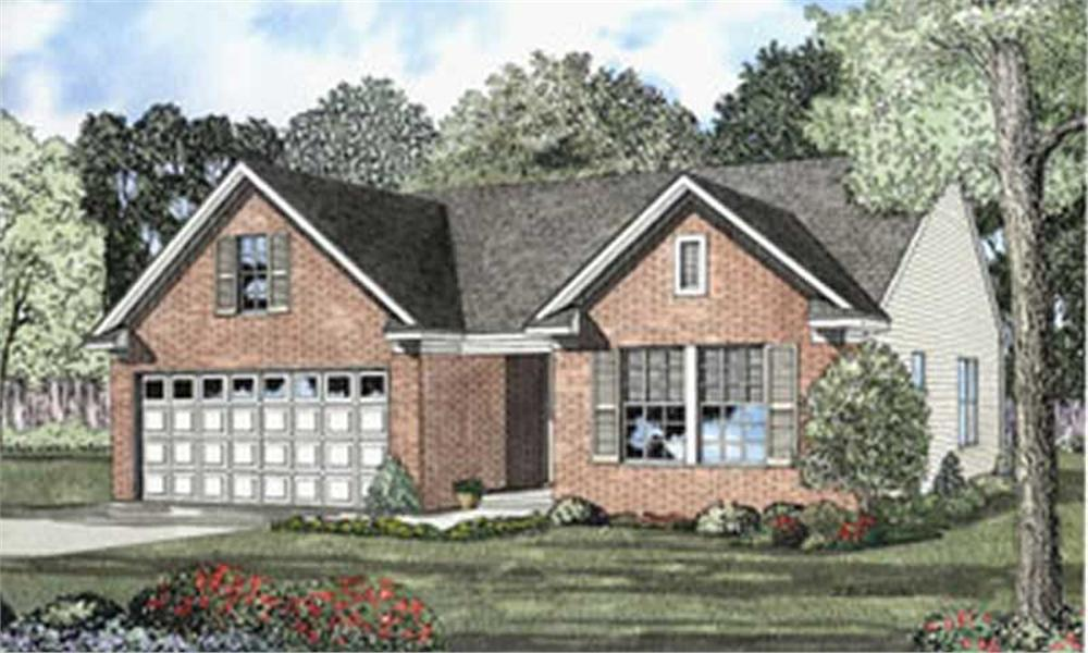 Main image for house plan # 4056
