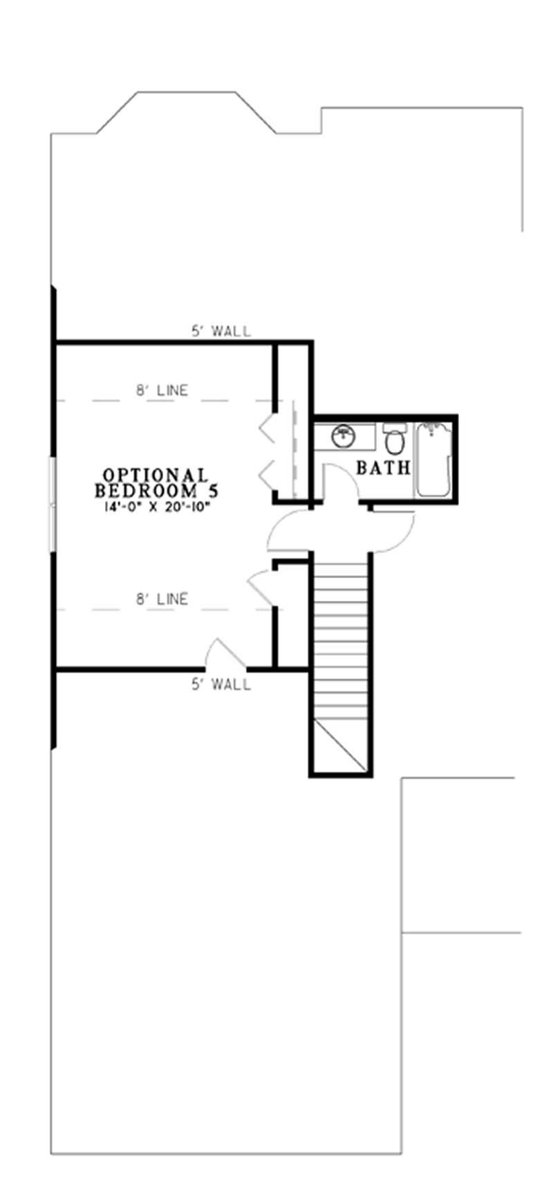 Country House Plan 5 Bedrms 4 Baths 3137 Sq Ft 153