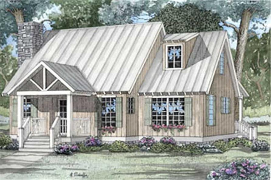 Main image for house plan # 3951