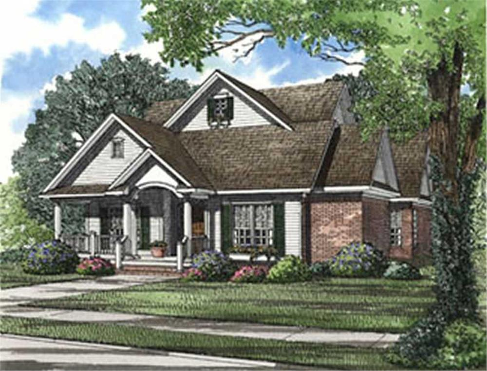Main image for house plan # 3986