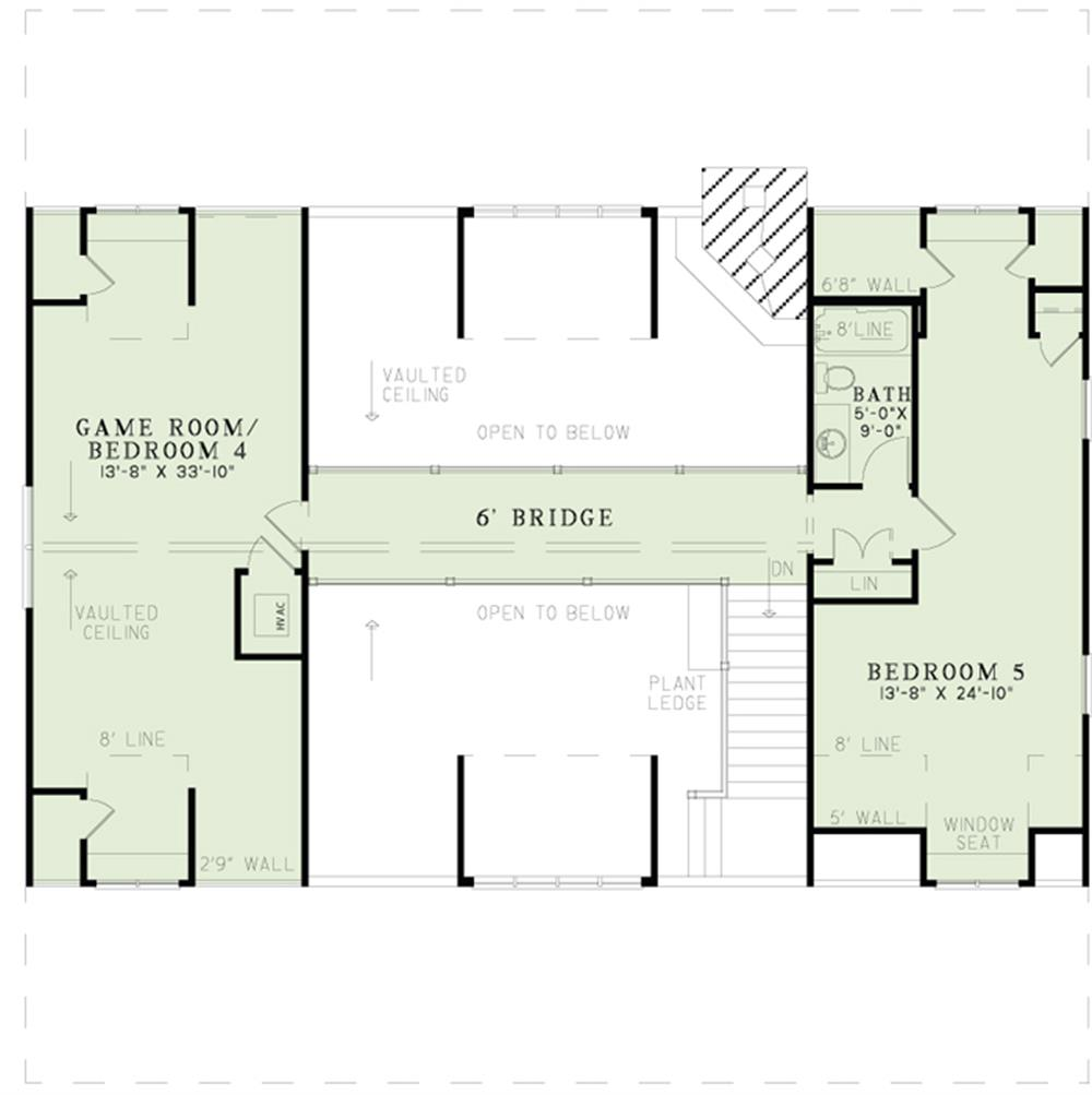 153-1313: Floor Plan Upper Level