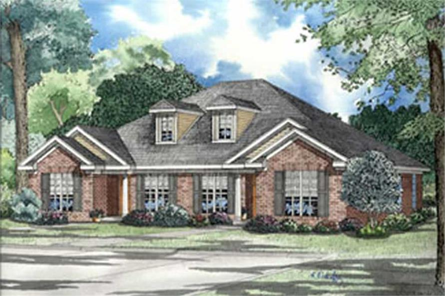 Main image for house plan # 3983