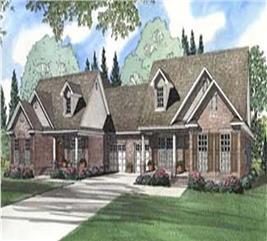 House Plan #153-1319