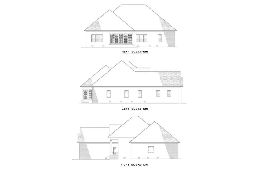 Home Plan Other Image of this 3-Bedroom,2100 Sq Ft Plan -153-1323