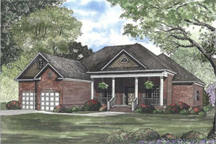 Main image for house plan # 3802