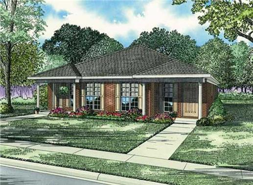 Main image for house plan # 3817