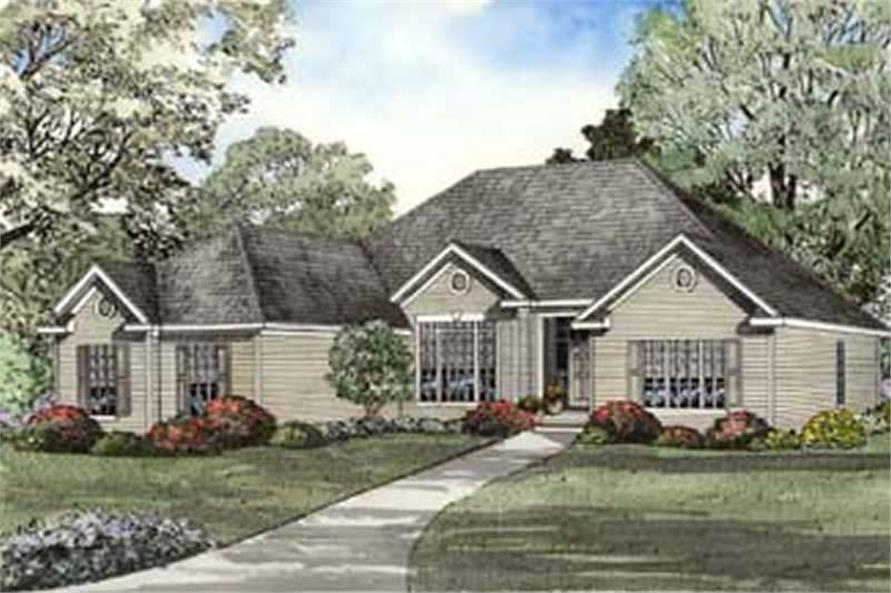 Other Elevation of this 4-Bedroom,2187 Sq Ft Plan -2187