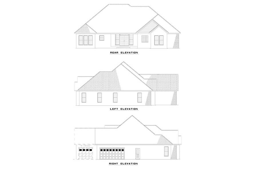 Home Plan Other Image of this 4-Bedroom,2394 Sq Ft Plan -153-1326