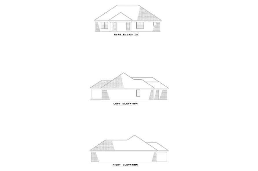 Home Plan Other Image of this 3-Bedroom,1574 Sq Ft Plan -153-1327