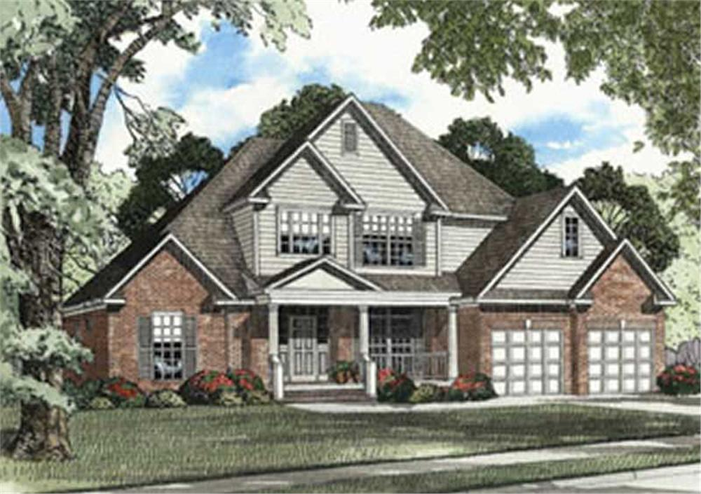 Main image for house plan # 3799
