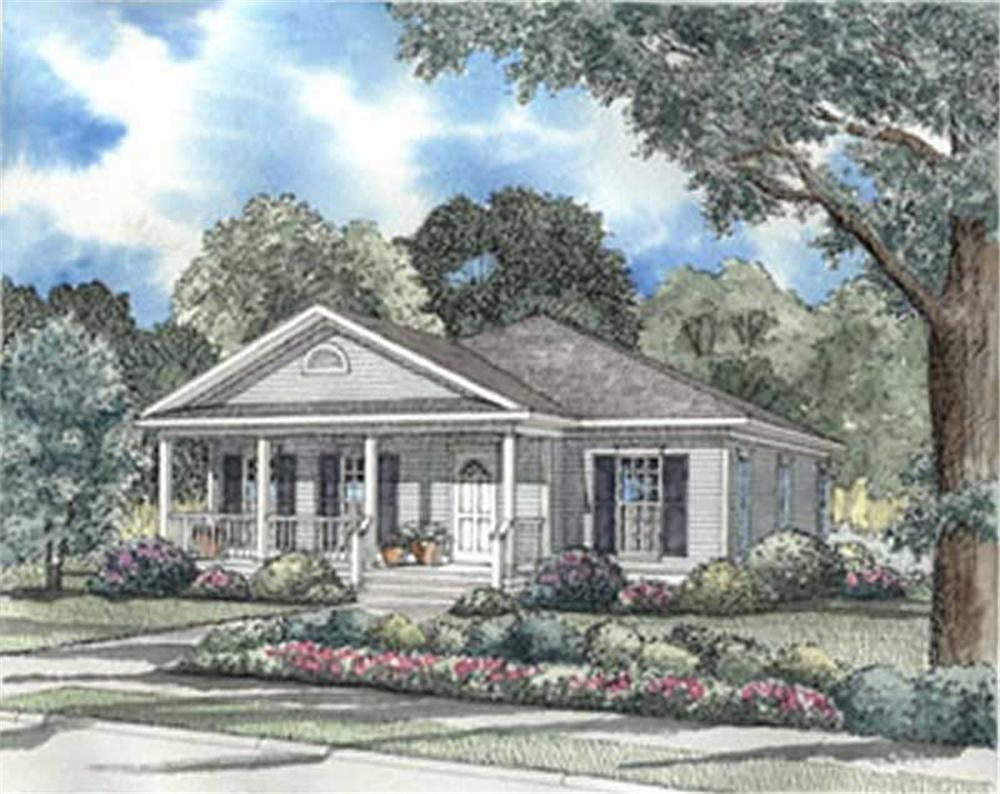 Main image for house plan # 3977