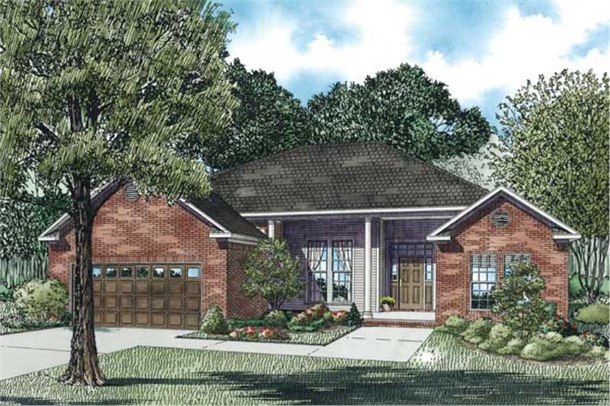 Main image for house plan # 3814