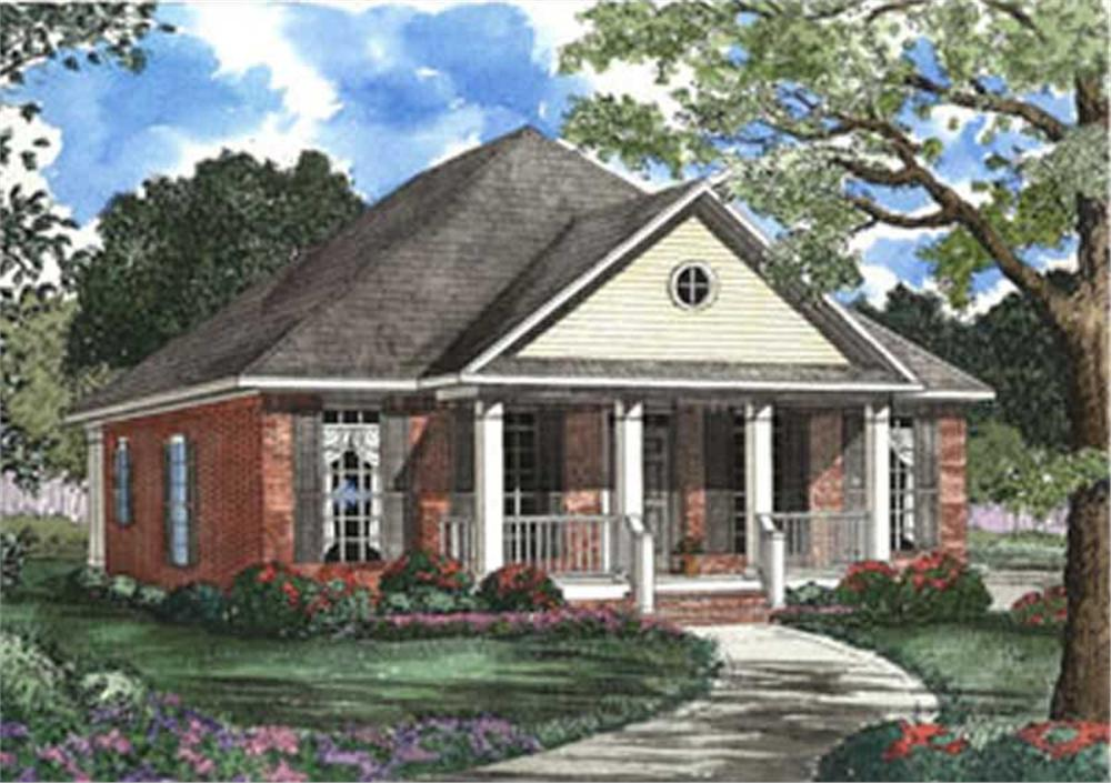 Main image for house plan # 3815