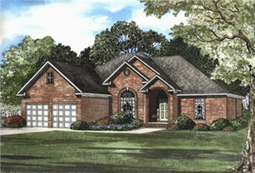 Main image for house plan # 3800