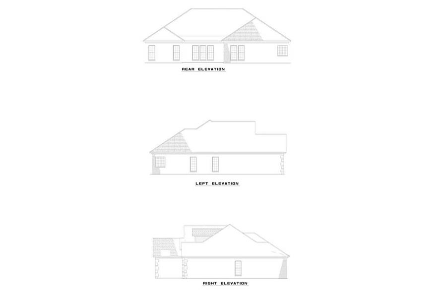 Home Plan Other Image of this 4-Bedroom,2217 Sq Ft Plan -153-1341