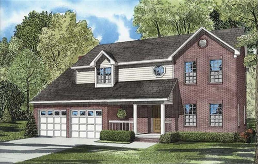 Main image for house plan # 7811
