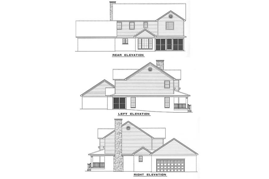 Home Plan Other Image of this 4-Bedroom,2582 Sq Ft Plan -153-1349