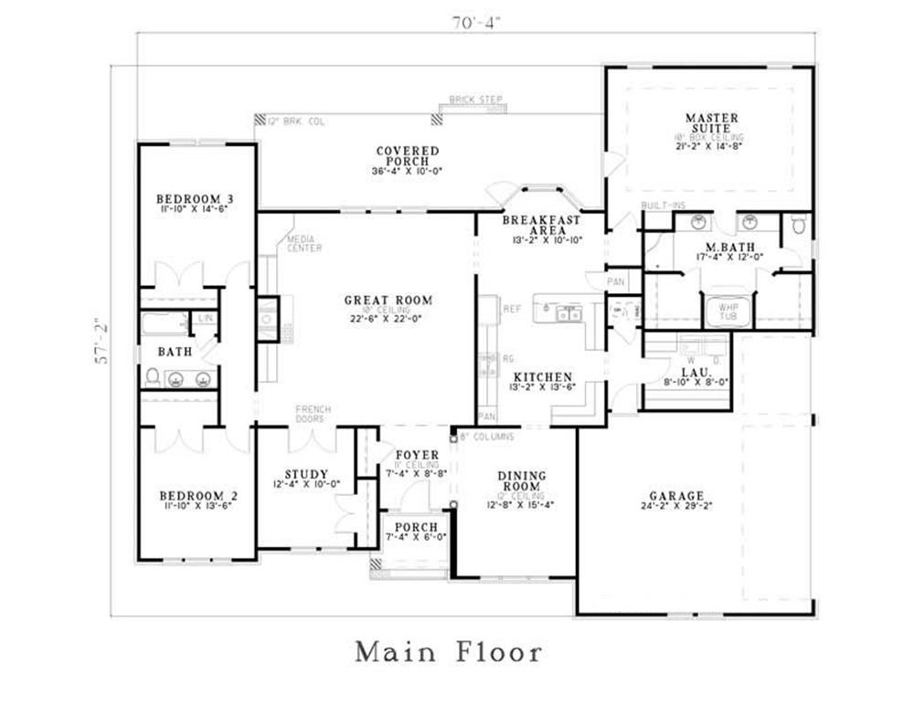 home plan 153 1355 floor plan first story floor plan first story