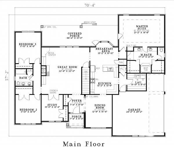 153-1355: Floor Plan First Story Floor Plan First Story