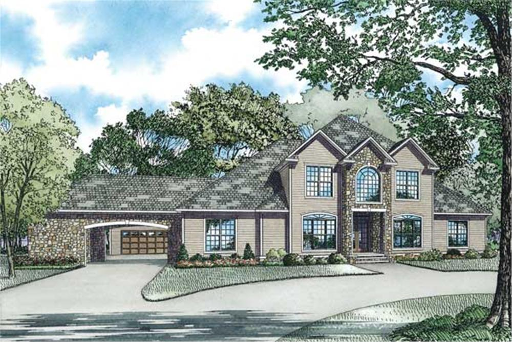 Main image for house plan # 3821