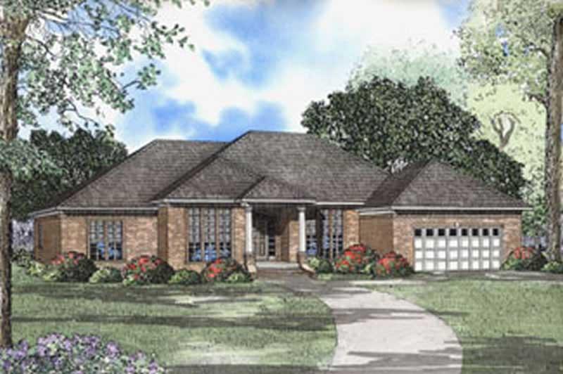 Prairie Ranch House Plans Home Design Ndg 108 5581
