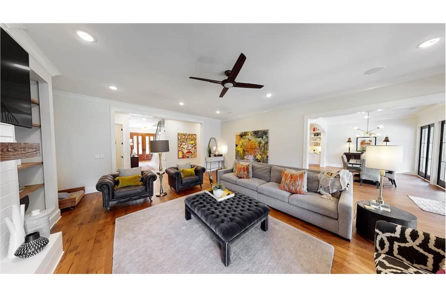 Great Room of this 4-Bedroom,4488 Sq Ft Plan -153-1365