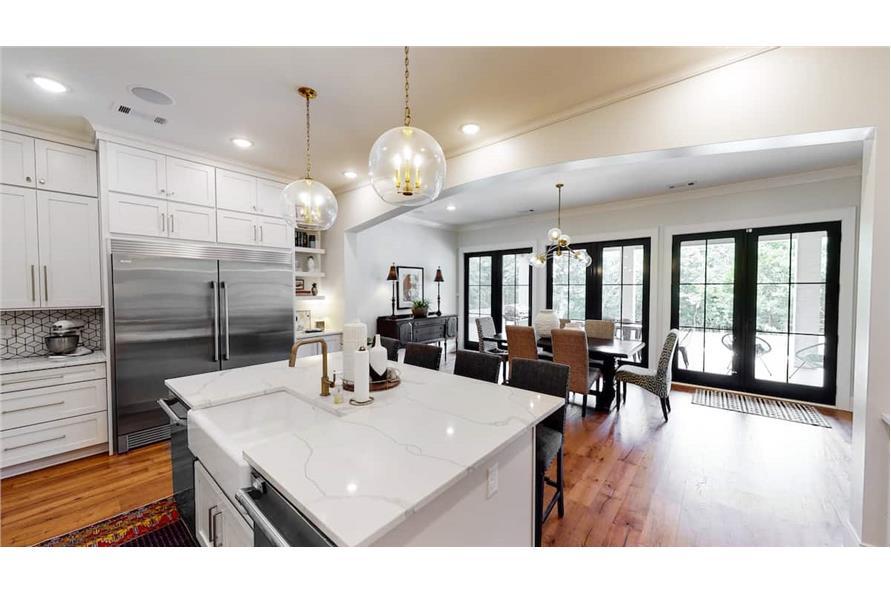 Kitchen: Breakfast Nook of this 4-Bedroom,4488 Sq Ft Plan -153-1365