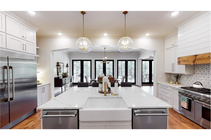 Kitchen of this 4-Bedroom,4488 Sq Ft Plan -153-1365