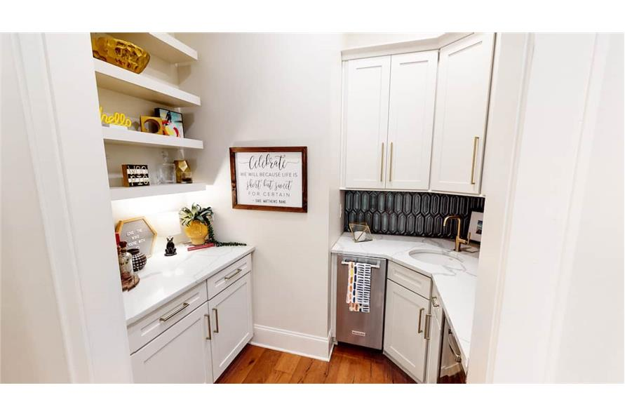 Kitchen: Pantry of this 4-Bedroom,4488 Sq Ft Plan -153-1365