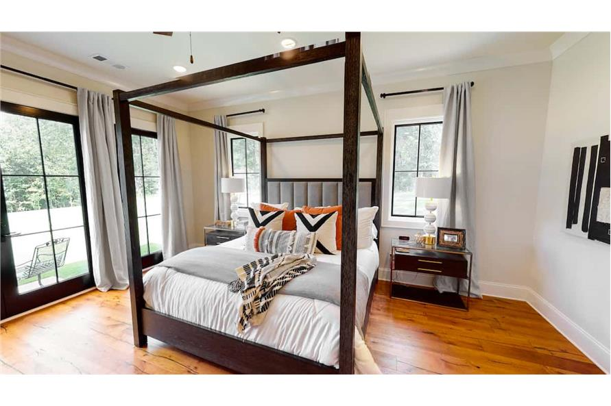 Master Bedroom of this 4-Bedroom,4488 Sq Ft Plan -153-1365