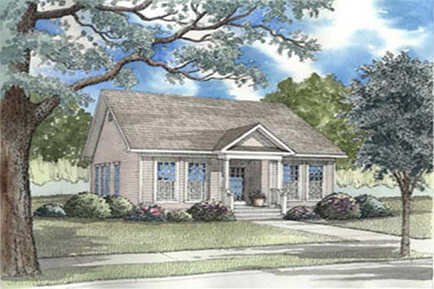 Main image for house plan # 3979