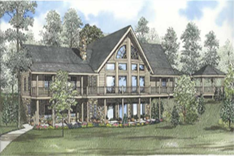 Main image for house plan # 5107
