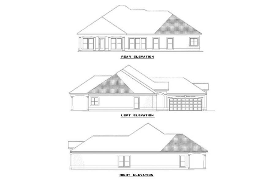 Home Plan Other Image of this 4-Bedroom,2501 Sq Ft Plan -153-1378